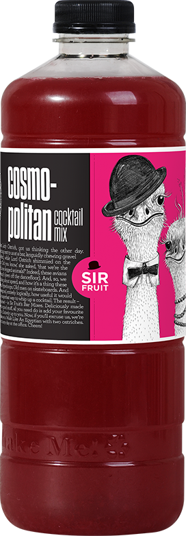 Fresh Cosmopolitan Cocktail Mix 750ml