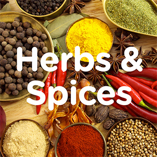 Herbs; Spices & Stock