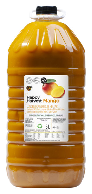 Happy Harvest Concentrate Mango 5L