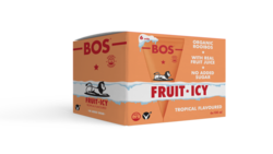 BOS Fruit Icy Tropical 6 x 100ml